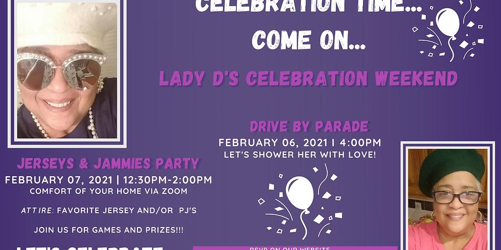 Lady D Celebration - Jerseys & Jammies