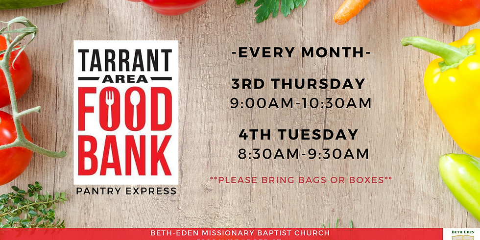 Beth-Eden Food Bank