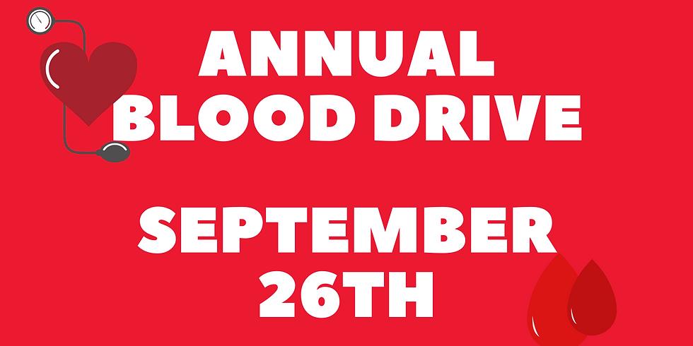 Annual Blood Drive