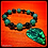Thumbnail: Green Aventurine & Guitar Pick Diffuser Bracelet