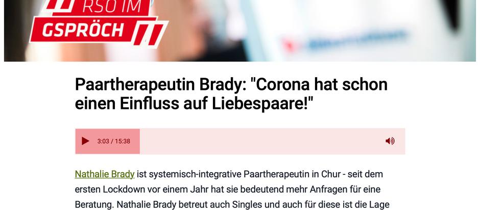 """""""Corona hat schon einen Einfluss auf Liebespaare"""""""