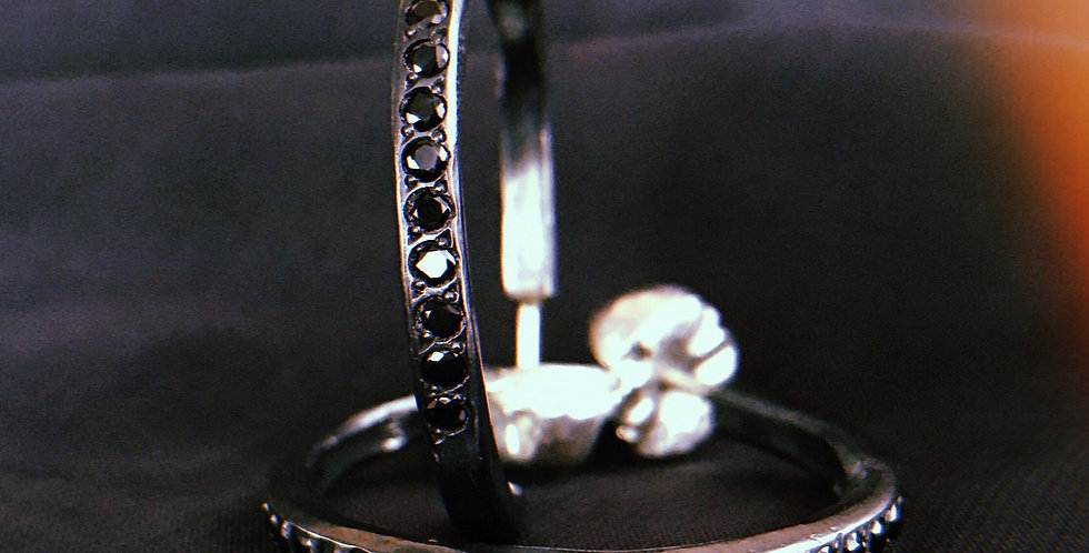 EARRINGS XXVIII [noah big black]