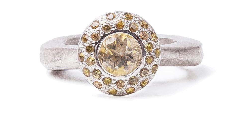 RING XXVI [keila round yellow]