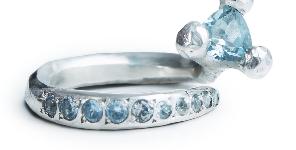 RING XXVII [nissim sky blue]