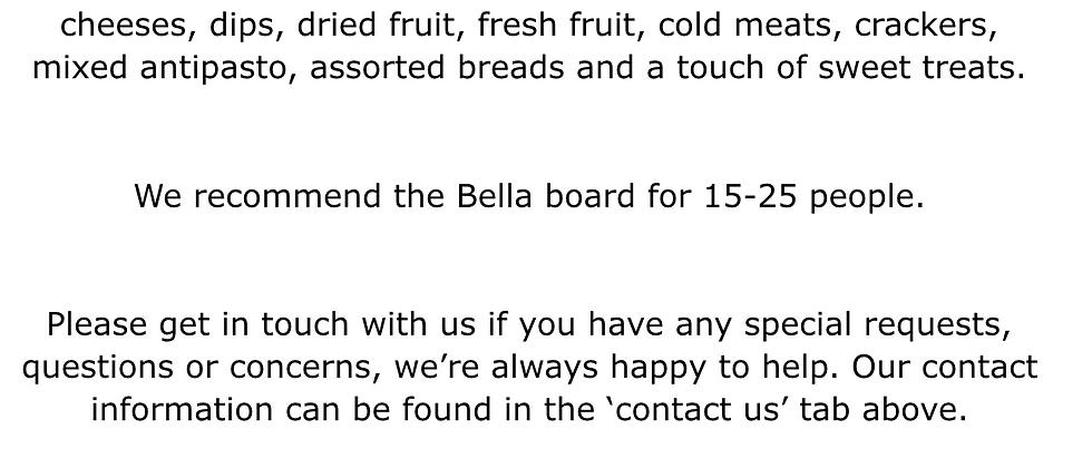 The Bella Board