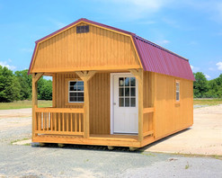 12x24 Porched Lofted Barn