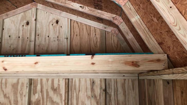12x24 Lofted Barn Cabin