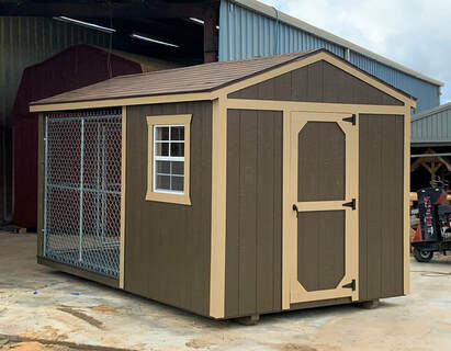8x14 Painted Kennel
