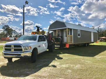 Yoder Sheds Truck Delivery