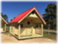 8x12 Playhouse, American Red Metal Roof, Full Loft, Windows, Rails, Shutters, Flower Boxes, Ladder, Stairs, Doll House