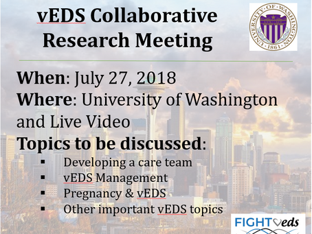 2018 vEDS Collaborative Meeting: What to Expect
