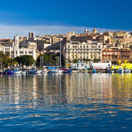 Boat tour in Cagliari Gulf, half or whole day