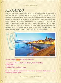 Alghero Sardinia Passport