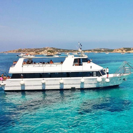 Maddalena Island Boat Tour from Palau port