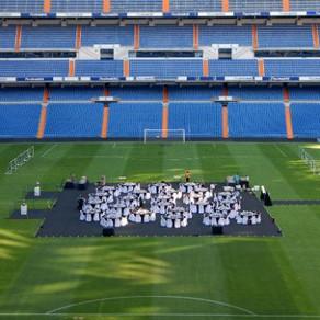 Organisation d'événements au stade Santiago Bernabéu