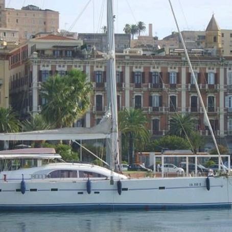 Boat Trip in Sailboat in Cagliari Gulf