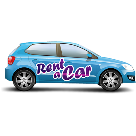 Rent a car, pick up at the Airport or city