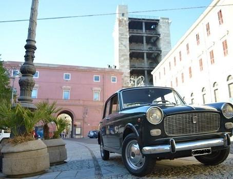Cagliari excursion in a Vintage Fiat