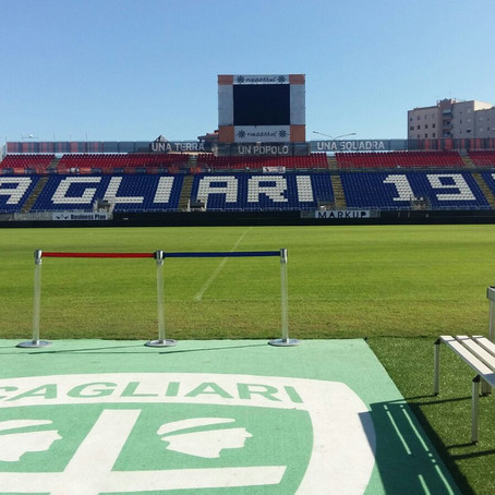 Visit the Museum Area of Cagliari Calcio Football club