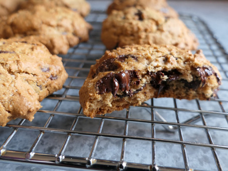 Bet you can't eat just one, gluten free chocolate chip cookies