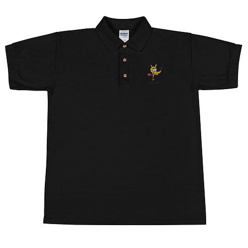 LOBONIUM LOGO Embroidered Polo Shirt