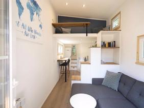 Tiny House Nordic Fjöll - Innen