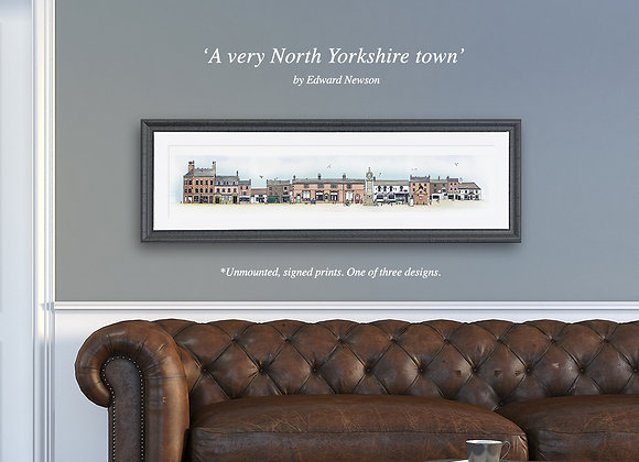 'A very North Yorkshire town' (large)
