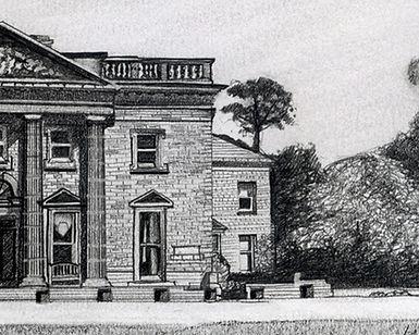 Queen Marys Topcliffe North Yorkshire Illustratedd Edd Newson