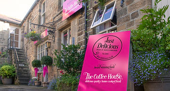 Just Delicious Cafe Pateley Bridge