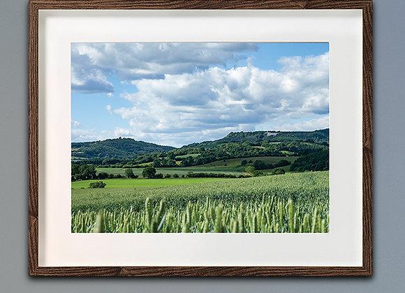 Sutton Bank North York Moors 91x61cm frame