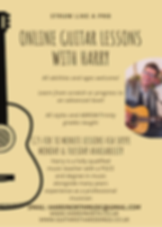 Pale Golden Rod Guitar Tutor Flyer (1) (