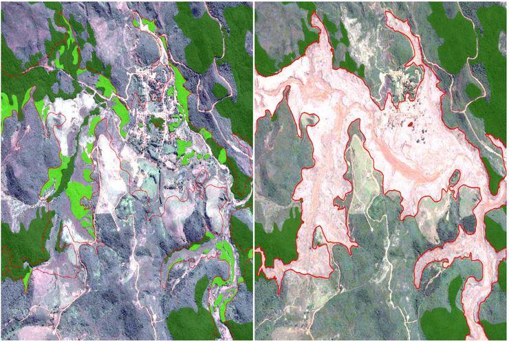 Área total afetada foi de 1.775 hectares. | Foto: Sosma/Divulgação