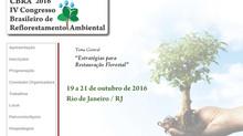 IV Congresso Brasileiro de Reflorestamento Ambiental