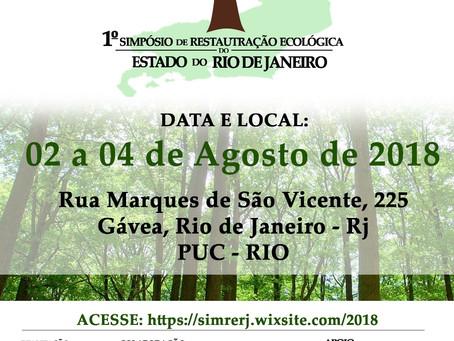 I Simpósio de restauração Ecológica do Estado do Rio de Janeiro
