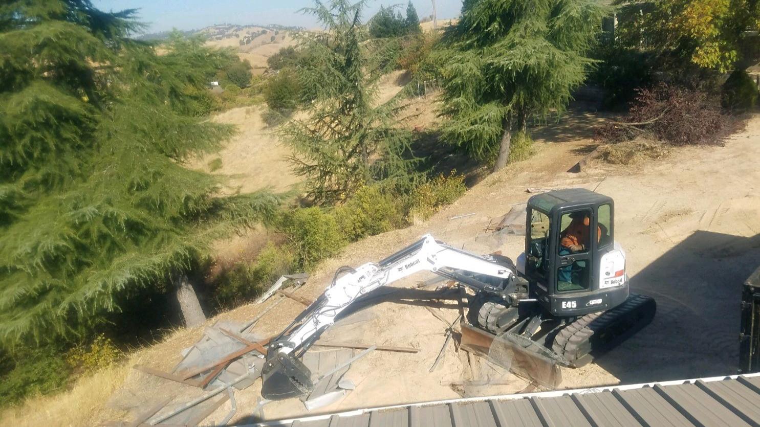 Demolition project in CA