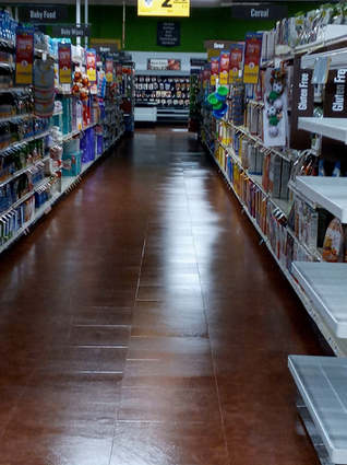 Floor Cleaning Grocery Store