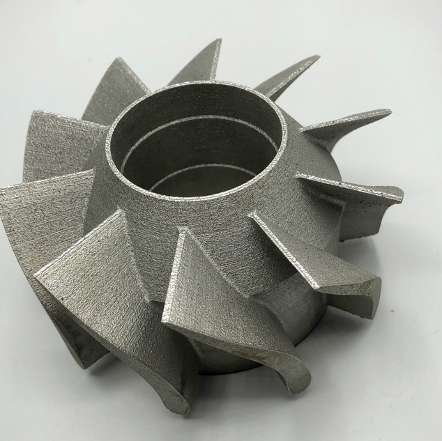 3d printed part Inconel
