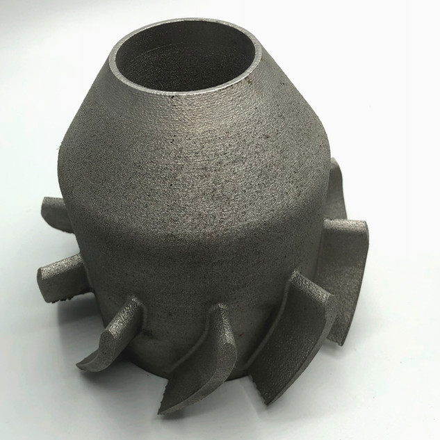3d printed metal part
