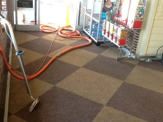 Retail Store Carpet Cleaning