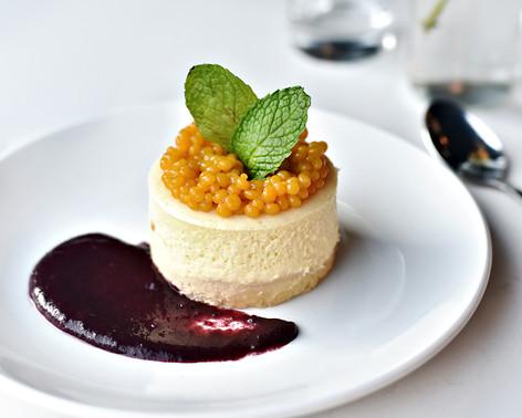 Small Batch Cheesecake