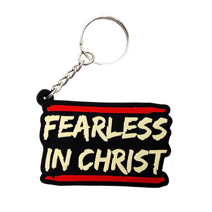 Fearless In Christ Keychain