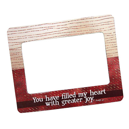 Greater Joy Magnetic Frame