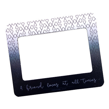Proverbs 17:17 Magnetic Frame