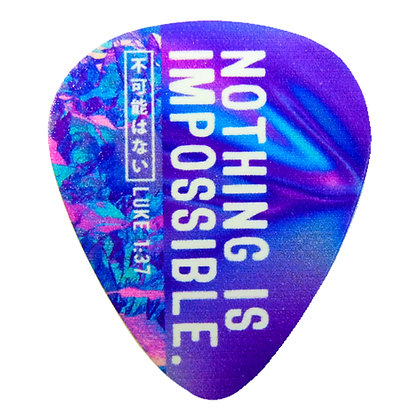 Nothing Is Impossible Guitar Pick