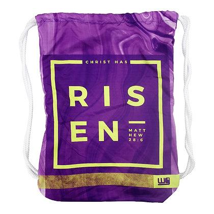 Christ Has Risen Cinch Bag