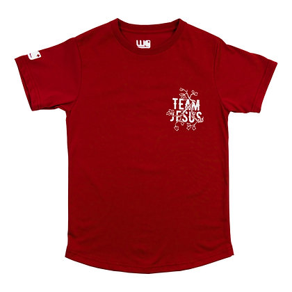 Team Jesus Vines Brick Red 2021