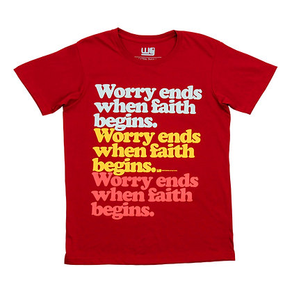 Worry Ends Retro Series