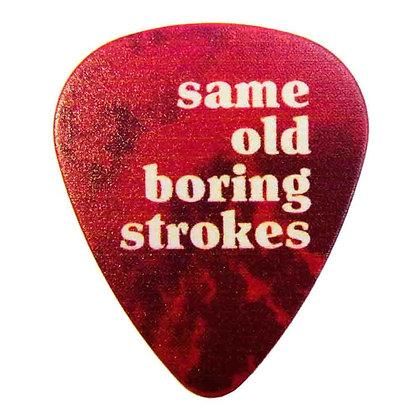 Victory - Same Old Boring Stroke Guitar Pick