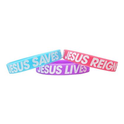 Jesus Lives Reigns Saves Baller