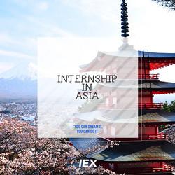 INTERNSHIP IN ASIA
